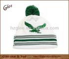 Custom new style winter beanie hat with a pom