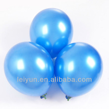 led light up flashing ballons kitty walking balloon Round 12-inch 3.2 grams pearl jewel blue balloons