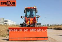 Everun CE Approved Farm Machine Mini Wheel Loader with Pallet Forks ER12