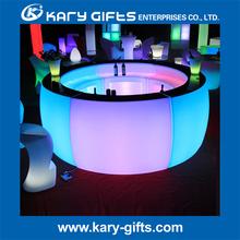 Plastic Waterproof RGB Led Lighting Party Table