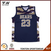 High quality sublimation mens basketball jerseys
