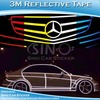 SINO CAR STICKER 1.5CMx45.7M Guarantee 3 Years Original 3M Reflective Strips Vinyl Film Sticker For Car Design