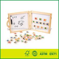 Wooden Alphabet magnetic board