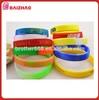 Cheap price high quality fashion silicone bracelet silicone wristband