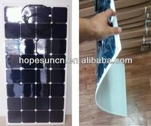 Paneles solares 140W high efficiency flexible solar panel in China