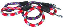 Colorful nylon round Rope Dog Leash Wholesale Pet Products C1007