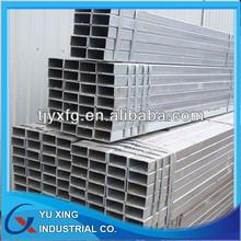 galvanized carbon square steel tube 20*20-600*600mm