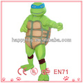 hola personaje de dibujos animados teenage mutant ninja turtles traje de la mascota