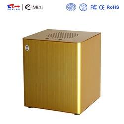 Vertical Mini ITX Aluminium Computer Case E-D3 (red)