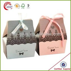 wholesale custom cheap clear recycled kraft single mini cardboard paper packaging cupcake box