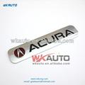 venta caliente de metal del coche emblemas y los nombres