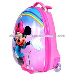 two wheels cartoon kids luggage