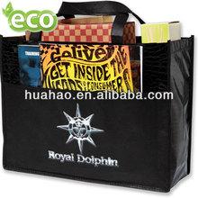 Long handle non-woven polypropylene bag