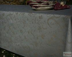 Linen Cotton Stylish Jacquard Fabric