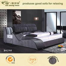bed design furniture bedroom furniture fabric bed B029#