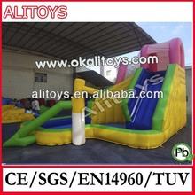 basketball game slide inflatbale pool slide sport equipment
