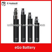 E-cig 650/900/1100/1300mah best ego batter for EGOs/CE4/CE5