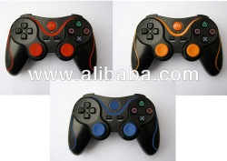 Double Shock Wireless Bluetooth Controller for PS3 Controller