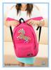 Horse printing children school bag for kids