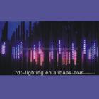 RGB LED crystal meteor light for nightclub