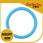 (CS-27427-4) CarSetCity FXPT010 Blue Flexible Fashionable Cute Summer Colorful Silicone New Car Steering Wheel Cover