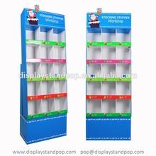 Custom Laminated 15 Cells Paper POS Merchandise Display