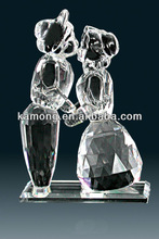 2014 Optical Glass Clear Lover Figure Sweethearts For Wedding Gifts