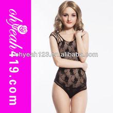 Popular black short fishnet sexy hot bodystocking wholesale