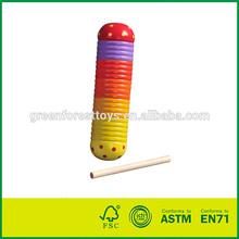 En71/astm guiro seguro de madera
