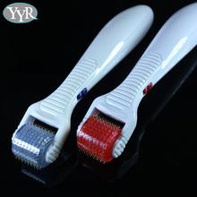 YYR 200 needles red led skin beauty vibrating led micro needle roller