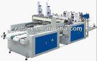 HSRQ-450x2 automatic bottom sealing and heat cutting shopping bag making machine