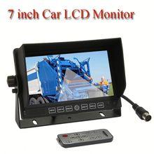 big screen car monitor, HD car monitor, Dual lens car camera for break bulk cargo carrier