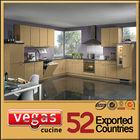Lower price pvc mdf cabinet kitchen
