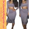 Mix order 2 piece bodycon dresses knee length