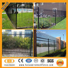 High quality & cheap different type wrought iron fence design ( ISO factory )
