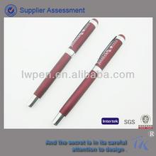 Red Color Best Selling High End Luxury Gel Pen
