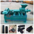 two screw high pressure charcoal briquette machine / charcoal briquetting extruder machine / charcoal extruder machine