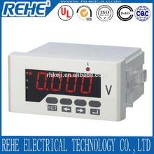 Digital 3 phase intelligent voltage / voltmeter 4 digit 100 volt panel meter