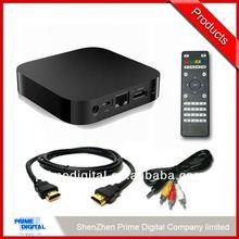2014 Cheapest hotsell set top box digital tv tuner scart dvb t receiver