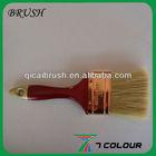 3 inch plastic handle pure bristle paint brush/paint to paint granite