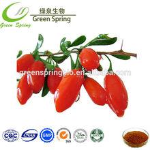 Natural Fruit Extract ! Wholesale goji berry price,goji berry powder extract 8:1,50% Polysaccharides,good goji berry price