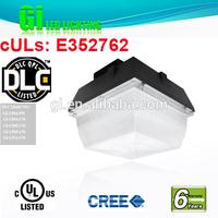 Top quality DLC UL CUL listed 6 years warranty ul gas station led canopy light