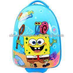 abs children cartoon luggage/kids trolley case