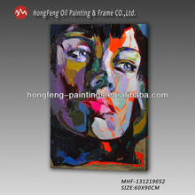 Newest Abstract Knife Portrait On Canvas Art