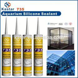 Acetic waterproof mirror silicone sealant mildew resistance