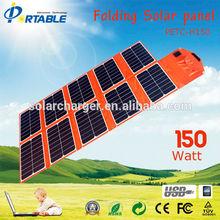 150W High Efficiency SunPower p 150W sunpower solar recharging kit Product Descript