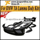 New Arrival FRP Material Lumma Body Kits ,X6 Sport Bodykits for BMW