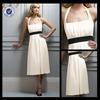 P0290 Halter top short prom dress formal low cut back prom dress