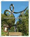 Contemporain. paysagematériel décor. oeuvreprix sculpture en acier inoxydable