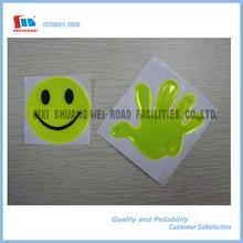 Customer Shape Reflective Cute Sticker Set